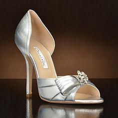 314bf4d000a by Oscar de la Renta Wedding Shoes at My Glass Slipper