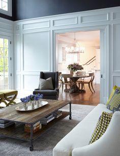 Living Room Millwork Ideas