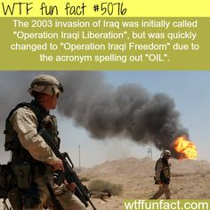 - Fact- : Invasion of Iraq facts - WTF fun facts www.letstfact.com