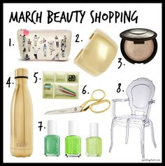 March Beauty Shoppin