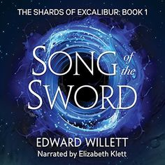 """Another must-listen from my #AudibleApp: """"Song of the Sword"""" by Edward Willett, narrated by Elizabeth Klett."""