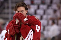 05/22/12: A wily coyote - In the corner, down 3-1 - Each game a must win (Shane Doan, captain of the Phoenix Coyotes before game 5 against the LA Kings. Probably pondering a game plan)