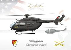 UNITED STATES ARMY 21st Cavalry Brigade (Air Combat) Ft. Hood, TX