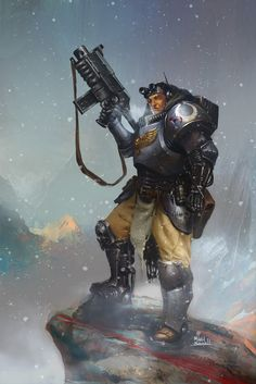 Ideas Science Fiction Characters Soldiers Warhammer For 2019 Warhammer 40k Rpg, Warhammer Fantasy, Ultramarines, Deathwatch, Character Art, Character Design, Space Wolves, Science Fiction Art, Space Marine