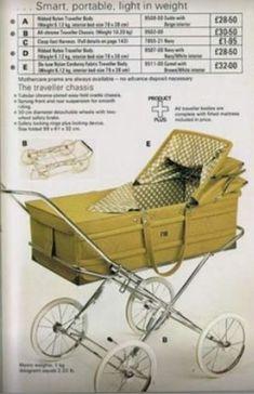 Vintage Pram, Retro Vintage, Maclaren Pushchair, Mothercare Prams, Baby Patterns, Crochet Patterns, Baby Prams, Display Case, Baby Products