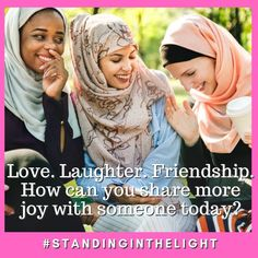 How can you share more joy with someone today? Laughter, Friendship, Joy, Canning, Glee, Being Happy, Home Canning, Conservation, Happiness