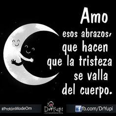 #Frases #Noche #Luna #Abrazos