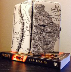 Lord of the Rings Book Page Wallet Gandalfs Letter to Frodo