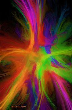 Colour Explosion Painting