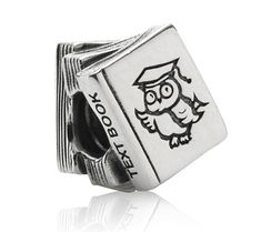 Pandora Black Friday 2013 Silver Study Books Charm 790536