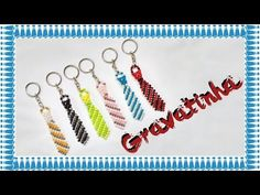 "How To Make Crystal Beads Keychain || DIY Beaded Keychains Tutorial ""Tie Keychain"" - YouTube"