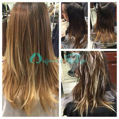 #Annabell, #Balayage, #Blonde, #Brunette, #LongHaircut, #Style