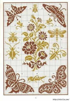 A stitch in time saves the mind. Butterfly Cross Stitch, Cross Stitch Borders, Cross Stitch Charts, Cross Stitch Designs, Cross Stitching, Cross Stitch Embroidery, Embroidery Patterns, Cross Stitch Patterns, Butterfly Dragon
