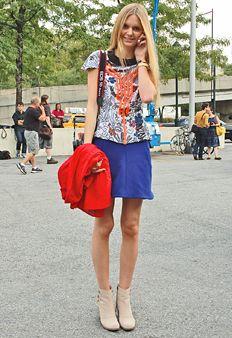 street style new york fashion week spring 2012