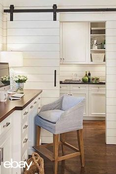 Without spending a lot of money, you can transform your kitchen into a warm, inviting space with rustic farmhouse charm! It's worth the effort; you spend a lot of time in your kitchen! Find your perfect sliding barn wood door kit on eBay,  and get started today!