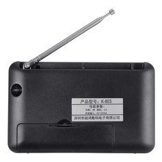 Rechargeable Electronic Bible MP3 Audio Player Built-in Loud Speaker Mini Radio English Version Sale - Banggood.com