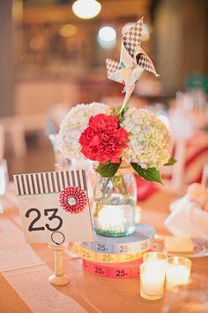 Photography: Megan Thiele Studios - meganthiele.com Event Planning: Cosmopolitan Events - cosmopolitanevents.com Floral Design: Sisters Floral Design Studio - sistersflowers.net  Read More: http://www.stylemepretty.com/2013/05/15/st-louis-circus-wedding-from-megan-thiele-studios/