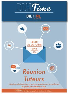 Affiches DigiTime by Marie Dupuy