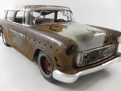 1955 Chevrolet Nomad 1/24 scale model car in by classicwrecks, $70.00