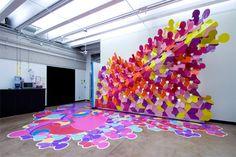 art installation -Azimuth Cafe - Arlecchino