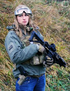 Well Equipped SHTF combat casual.