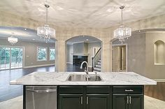 This is the view I want from the kitchen!!! LOVE this!