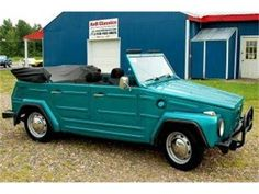 Volkswagen Thing or Type 181. My dream car.