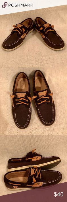 1c237569f2b6d I just added this listing on Poshmark  NWOB Sperry Brown Boat Shoe