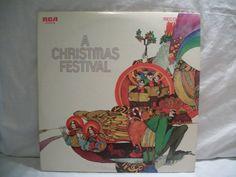 A Christmas Festival  RCA Record Club Vinyl LP Album Christmas Carols Band…