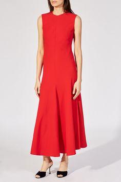 Brenda Dress in Red – KHAITE