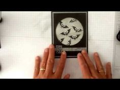 ▶ Stampin'Up H is for Halloween Hello with a ghosting technique! - YouTube
