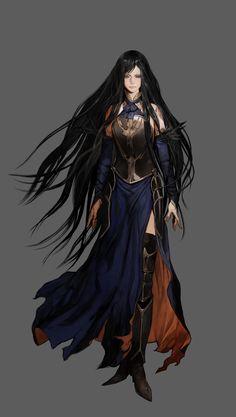 "Shanoa from ""Castlevania: Order of Ecclesia"" Created by: Ayami Kojima"