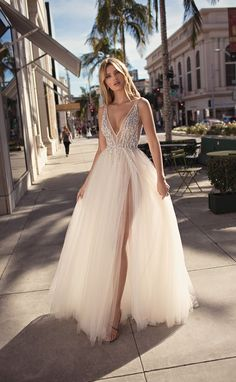 MUSE by Berta Spring 2019 Collection.theweddingnot… MUSE by Berta Spring 2019 Collection. Cute Dresses, Beautiful Dresses, Prom Dresses, Beaded Prom Dress, Beautiful Gorgeous, Pageant Dresses, Bridal Collection, Dress Collection, Dream Wedding Dresses
