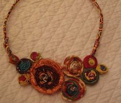 diana taylor makes ficklesticks for fancy necklaces, corsages and bracelets at stickballstudio in berkeley . bend , wrap, weave and wear!