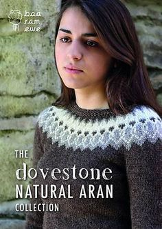 Ravelry: The Dovestone Natural Aran Collection