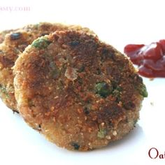 Delicious and healthy oats cutlet (patty). Great as an appetizer or as a sandwich patty.