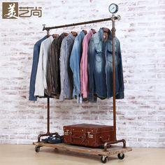 Loja prateleiras de fazer o velho retro, Tubos de são de prateleiras móveis(China (Mainland))