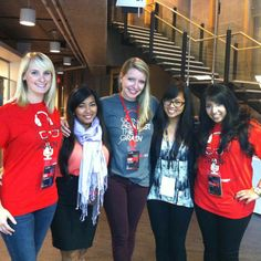 TEDxSFU with the YWiB ladies!