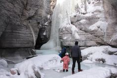 crazy ice walk in Maligne Canyon :)  The Wildest Winter Canyon Hike in the Canadian Rockies. - See more at: http://www.rockiesfamilyadventures.com/2014/03/winter-escape-to-jasper-national-park.html#sthash.PjAZQ2gs.dpuf