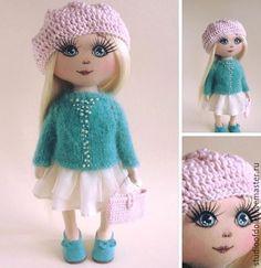 Купить Betti. - бежевый, куколка, интерьерная кукла, авторская ручная работа, кукла текстильная