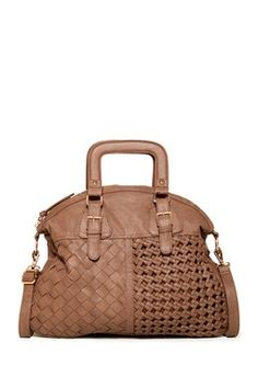 Sole Society Florence Woven Satchel