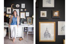 Vana Chupp Owner & Creative Director behind Le Papier Studio   Career Contessa (photos: Kelly Allison)