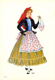 The biggest problem is that 'white' culture has been replaced by generic-American/Hollywood culture. That's why 'white' culture se European Dress, Portuguese Culture, Azores, Folk Costume, Retro Futurism, Cute Images, Vintage Travel Posters, Fashion History, Traditional Dresses