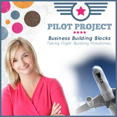 Lisa Larter's Pilot Project starts January 6th. This is a great way to kick start your business in 2014.