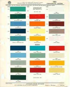 1000 Images About Colors On Pinterest Paint Color Chart