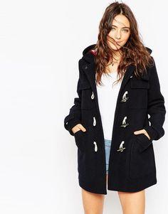 Duffle coat classique - bleu marine - Asos