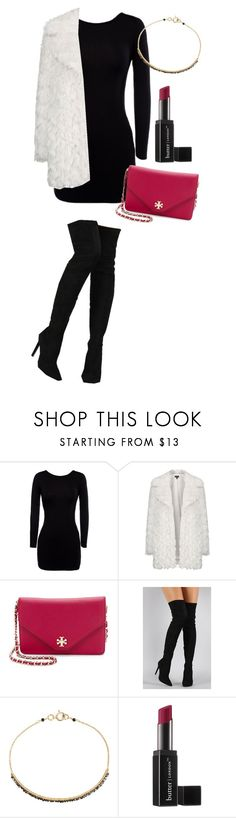 """""""Party #1 💋💄"""" by andick ❤ liked on Polyvore featuring Topshop, Tory Burch, Liliana, Dana Kellin and Butter London"""