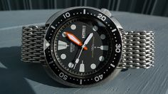 cool mod, Seiko 6309 7040, most parts from yobokies
