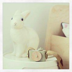 Mercatino dei Piccoli ♥ the li*l Market - Rabbit Lamp - Lampada coniglio