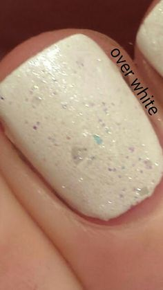 Snow Queen  available at www.myworldsparkles.com/lacquers.html and on Etsy www.etsy.com/shop/MyWorldSparklesStore $8.00  Wonderful swatches by Shan3270.   #nailpolish, #nails, #followme, #indienails, #indienailpolish, #supportindies, #lovepolish, #glitterbomb, #glitterpolish, #glitter